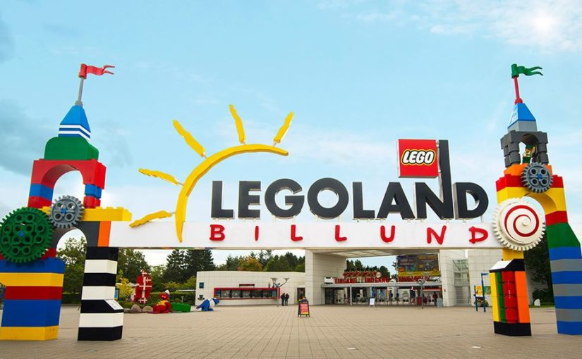 Åker till Legoland